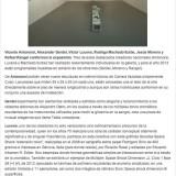 Arte en La Red Colectiva Montaje, Viernes 31 de Agosto 2012
