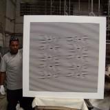 Opticinéticos, taller de producción