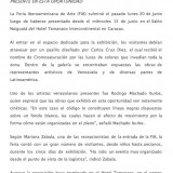 Notas de Prensa, FIA 2011