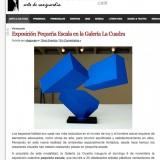 Notas de Prensa, Exposición Colectiva Pequeño Formato
